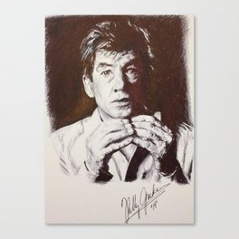 Sir McKellen Canvas Print