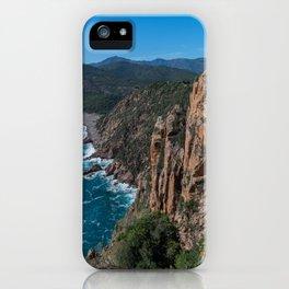 Corsica Island Landscape iPhone Case