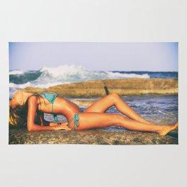 Beach Girl Rug
