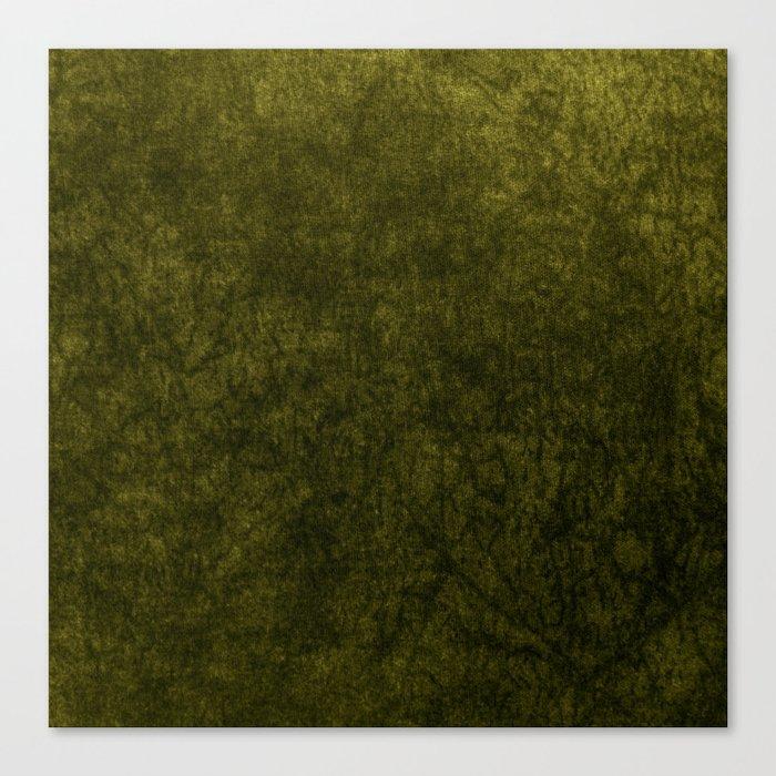 olive green velvet   texture Leinwanddruck