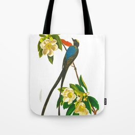 Fork-tailed flycatcher Bird Tote Bag