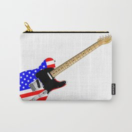 Stars And Stripes Guitar Carry-All Pouch