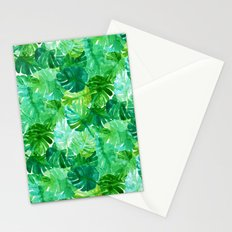 Welcome to the Jungle Palm Stationery Cards