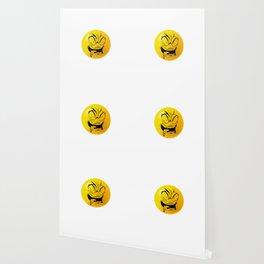 Crazy Furious Smiley Wallpaper