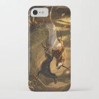 unicorns iPhone & iPod Cases featuring Unicorns by ErikaStudio