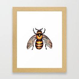 I put a bee on it Framed Art Print