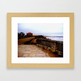 the coastal images series  - blyth Framed Art Print