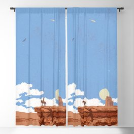 OUT WEST Blackout Curtain