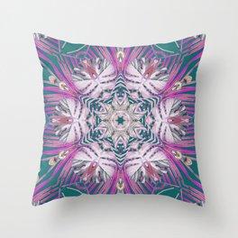 Paradise Jade Throw Pillow