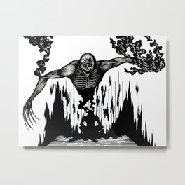 The Monster Within Metal Print