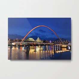 Gateshead Millenium Bridge Metal Print