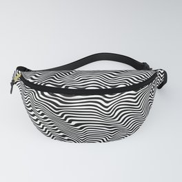 Op Art Stripes Fanny Pack