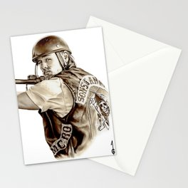 Sons of Anarchy (JAX TELLER fanart) Stationery Cards