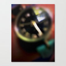 Blurred Time Canvas Print