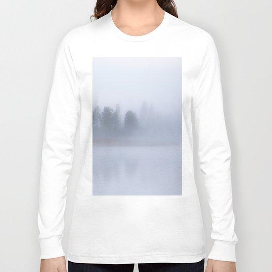 Autumn Foggy Morning Long Sleeve T-shirt
