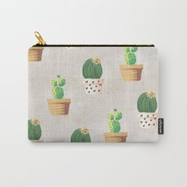 Concrete - Cactus Wall Carry-All Pouch