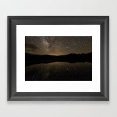 Perspective of Twilight Framed Art Print