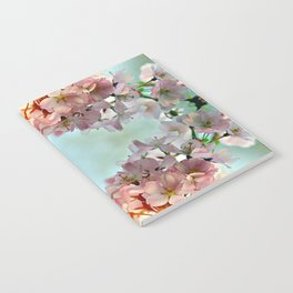 Delicate cherry blossoms Notebook