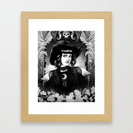 Bewitching Mirror Framed Art Print