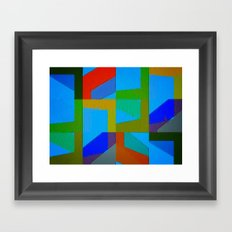 Colorful Truth. Sky Framed Art Print