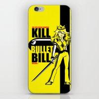 kill bill iPhone & iPod Skins featuring Kill Bullet Bill by Shana-Lee