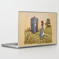 adventure Laptop & iPad Skins featuring Adventure in the Great Wide Somewhere by Karen Hallion Illustrations