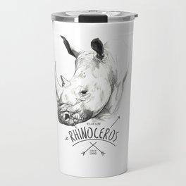 Rhinoceros Travel Mug