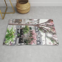 Blooming Fountain Rug