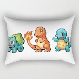 First Gen - Pixel Art Rectangular Pillow