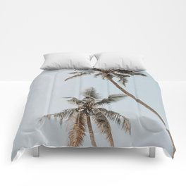 two palm trees Comforters