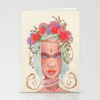 maori Stationery Cards featuring Maori by Caly