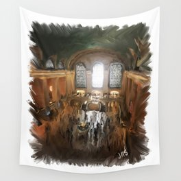 Grand Central Terminal in Digital Oils Wall Tapestry