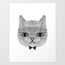 The sweetest cat Art Print