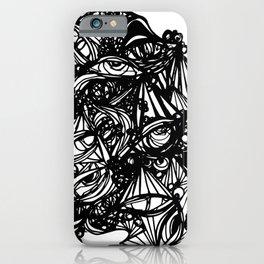 eye doodle iPhone Case