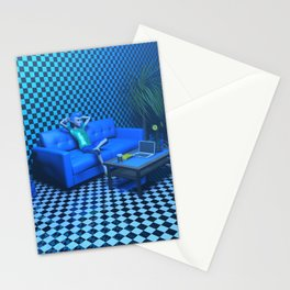 Blue Room Stationery Cards
