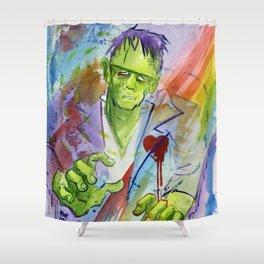 Friend Frankenstein Shower Curtain