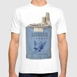 Gauloises 20 Cigarettes France Vintage Pack 1968 T-shirt