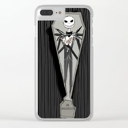 Mr. Skellington Clear iPhone Case