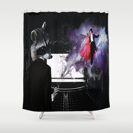 A Night in the Theater Shower Curtain