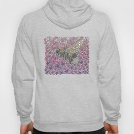Vanishing Bee by Black Dwarf Designs Hoody