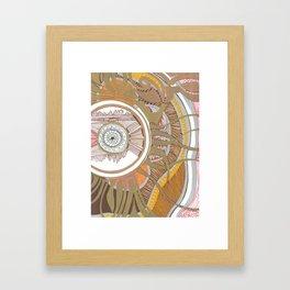 Golden Compass Framed Art Print