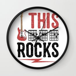 This Dad Rocks Wall Clock