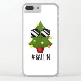 #Ballin Clear iPhone Case
