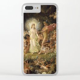 The Quarrel of Oberon and Titania by Joseph Noel Paton, 1849 Clear iPhone Case