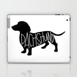 Dachshund Silhouetter Laptop & iPad Skin