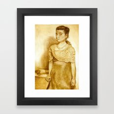 Lizzie Borden  Framed Art Print