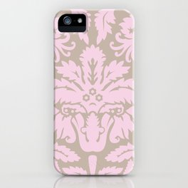 French chic pink iPhone Case