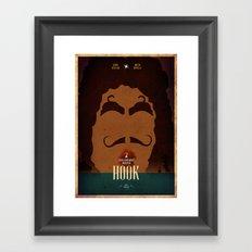 Hook Fan Art Framed Art Print