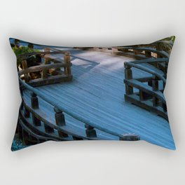 Spirit Bridge Rectangular Pillow