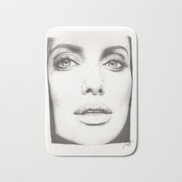 the lovely angelina... Bath Mat
